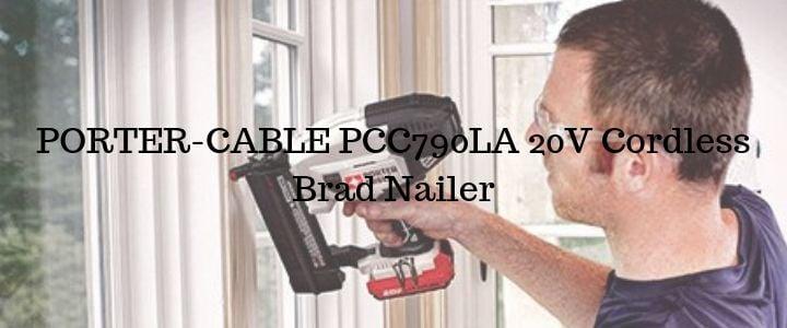 PORTER-CABLE PCC790LA 20V Cordless Brad Nailer