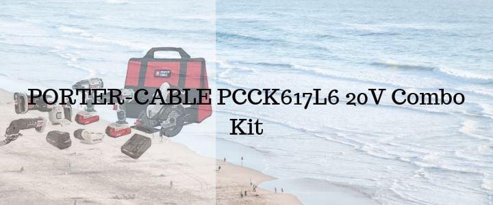 PORTER-CABLE PCCK617L6 20V Combo Kit
